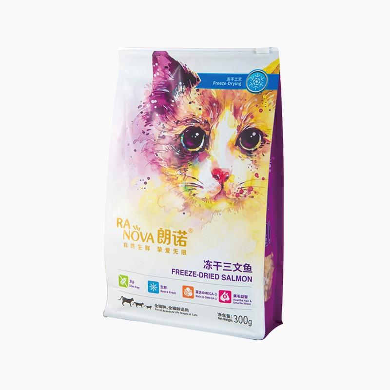 朗诺 宠物猫粮 冻干三文鱼 300g