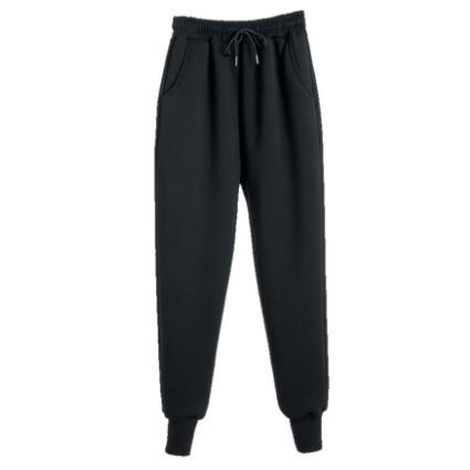 雅鹿 YA0012C046 女士加绒运动裤