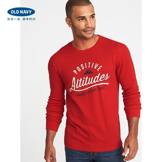 OLD NAVY 339576 男士针织上衣 (罗比红、L)