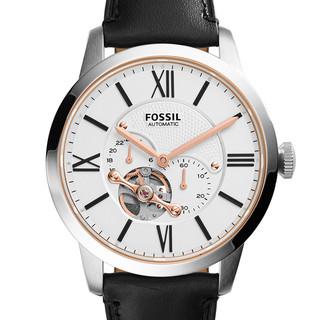FOSSIL  复古镂空机械腕表ME3104