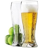 Libbey 利比 玻璃啤酒杯 458ml*2个