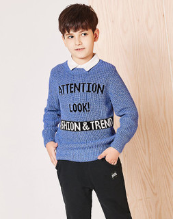 balabala 巴拉巴拉 男童印花毛衣