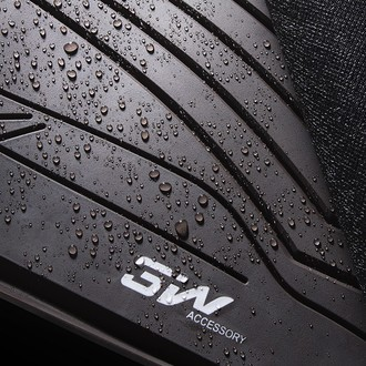 3W 全TPE 专车专用脚垫 黑色 适配部分大众车系