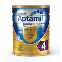 中亚Prime会员:Aptamil 爱他美 金装 婴幼儿配方奶粉 4段 900g  *2件