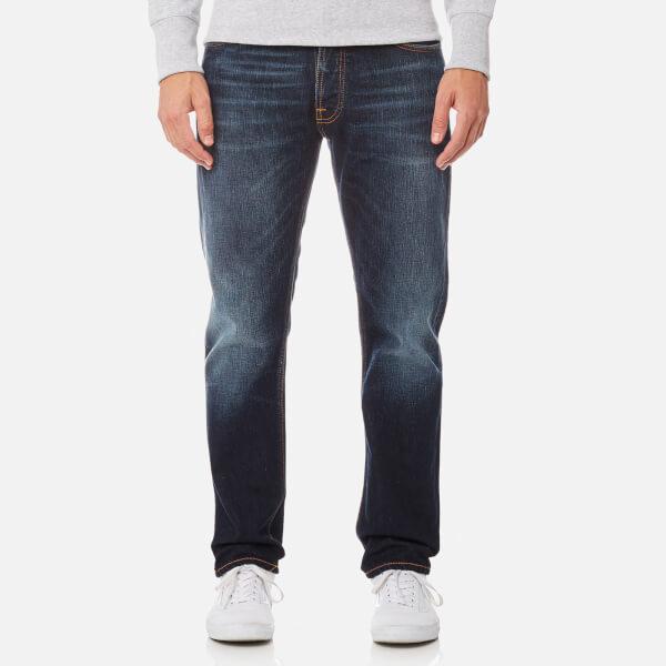 Nudie Jeans Fearless Freddie 男士直筒锥腿牛仔裤