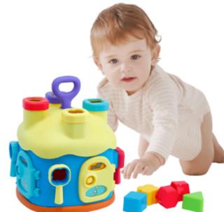 beiens 贝恩施 宝宝益智力玩具积木屋 1-3岁