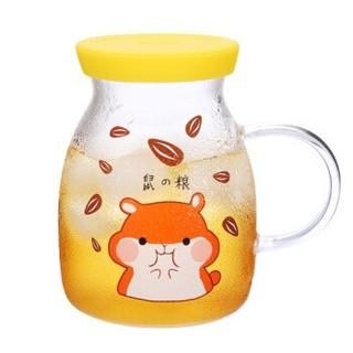 明尚德 可加热玻璃杯 350ml
