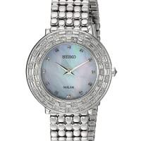 SEIKO 精工 Tressia系列 SUP373 女士太阳能腕表