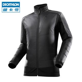 DECATHLON 迪卡侬 Intensity 700 Hybrid 男款保暖抓绒夹克 (蓝色、M)