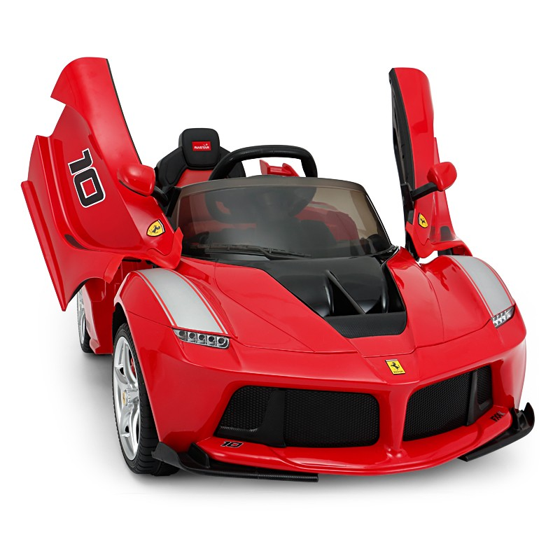 RASTAR 星辉 82700 法拉利FXXK 儿童电动童车 单驱红色