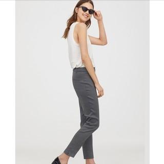 H&M HM0573716 女装休闲裤女九分高腰长裤