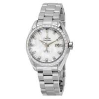 复活节狂欢、银联专享 : OMEGA 欧米茄 Seamaster Aqua Terra 231.15.34.20.55.001 女士机械腕表
