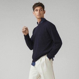 Massimo Dutti 00932318401 男士含山羊绒针织衫