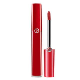 ARMANI JEANS 女士口红唇釉  臻致丝绒哑光 (400#复古大红、6.5ml)