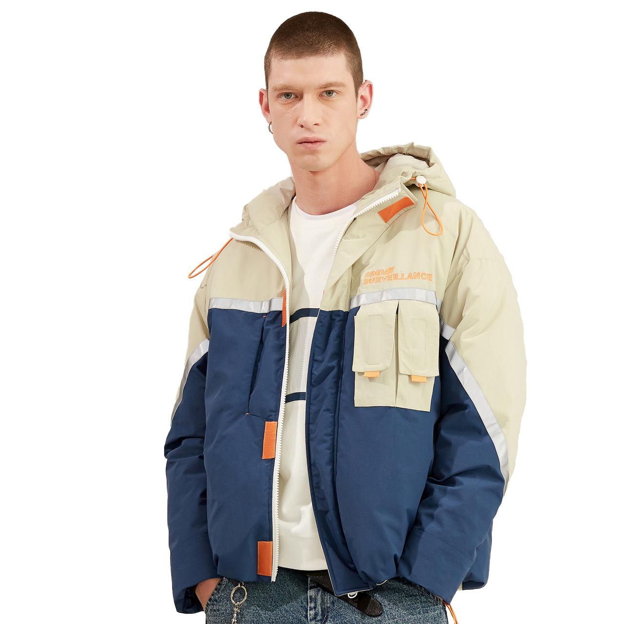 LILBETTER T-9184-019004 男士连帽棉服夹克
