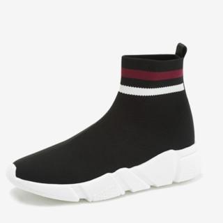 Teenmix 天美意 55024DD8 女士弹力袜靴