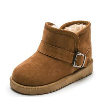 影齐 儿童雪地靴