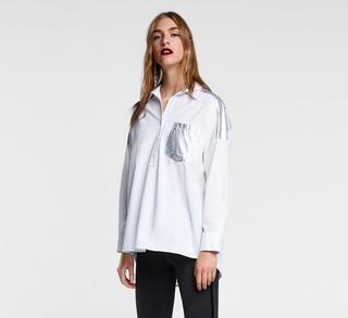 ZARA 03666160250 女士衬衫