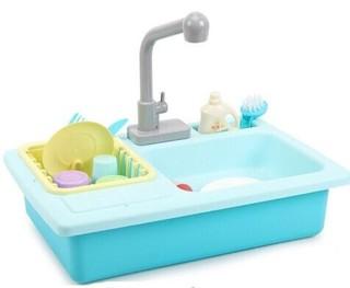 知识花园 儿童电动洗碗槽  蓝色