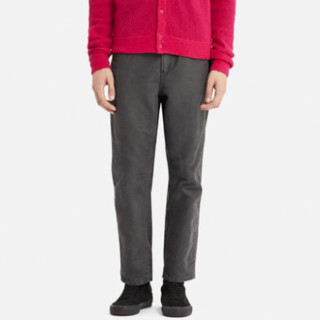 UNIQLO 优衣库 413552 男装宽腿窄口彩色牛仔裤