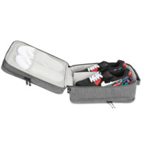 携程优品 鞋子收纳袋 高端商务款旅行便携三层收纳鞋包