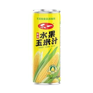 Beyi 本一 零添加鲜榨NFC玉米果汁饮料 245ml*15