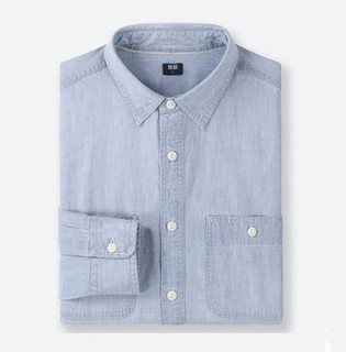 UNIQLO 优衣库  416917 男士长袖衬衫