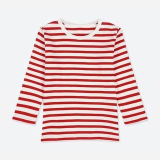 UNIQLO 优衣库 儿童条纹圆领T恤