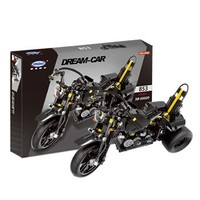 星堡积木 机械系列组 摩托车 XB-03020 重型机车 *2件