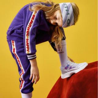 MQD 女童加绒运动套装