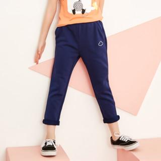 MooMoo 女童休闲运动长裤