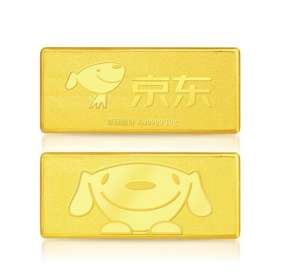 翠绿 Au9999 JOY联名款金条 10g
