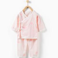 Tong Tai 童泰 新生兒系帶開襠和服套裝 0-3個月