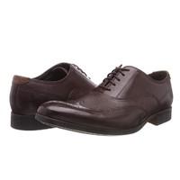 中亚Prime会员、限尺码:Clarks 其乐 Gilmore Wing 男士布洛?#19997;?#33457;皮鞋
