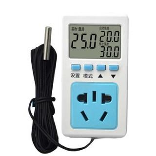 品禾 智能数显温控器温控开关插座220v 防水头