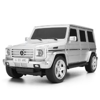 移动端 : 美致模型 ??爻?奔驰G55车 1:24 玩具汽车 银色 27029