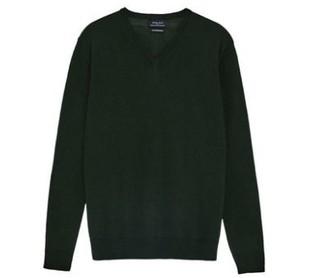 ZARA 00693331501 男士羊毛基本款针织衫