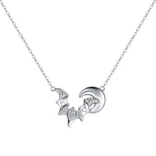 CIGA LONG 月光蝙蝠系列 纯银锁骨链