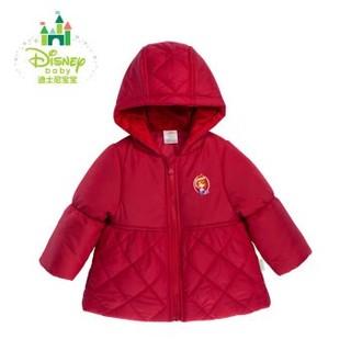 Disney 迪士尼 154S732 女童连帽棉服