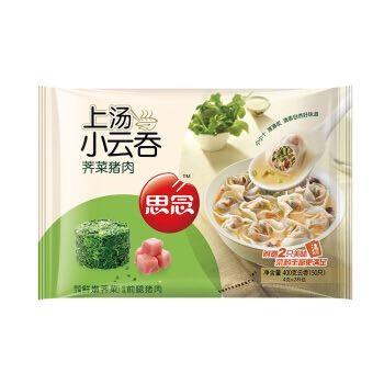 思念 上汤小云吞 荠菜猪肉口味 400g (50只)