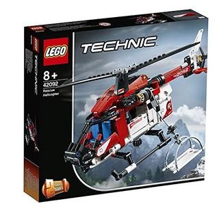 LEGO 乐高 机械组 42092 救援直升机