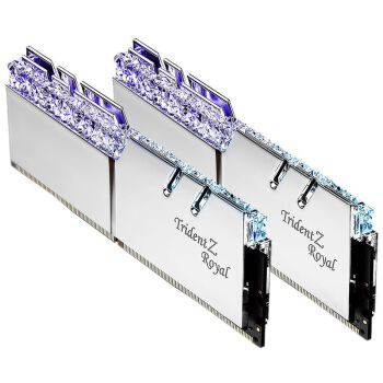 G.SKILL 芝奇 皇家戟 16GB(8GB×2) DDR4 3600 RGB台式机内存条 套装