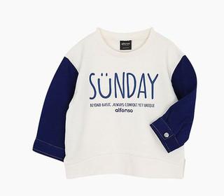alfonso SUNDAY 儿童长袖卫衣