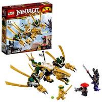1日0点、考拉海购黑卡会员:LEGO 乐高 Ninjago 幻影忍者系列 70666 幻影忍者黄金飞龙