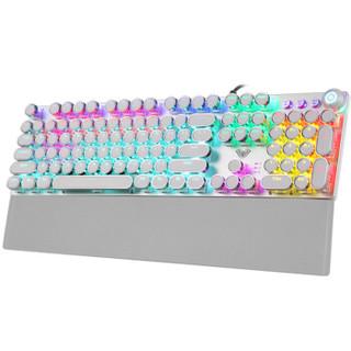 AULA 狼蛛 F2088 圆形电镀版 机械键盘