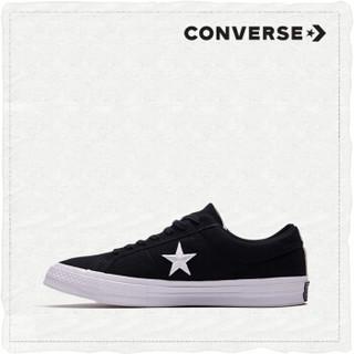 CONVERSE匡威官方 One Star低帮撞色板鞋  160596C 黑色/160600C 40/7