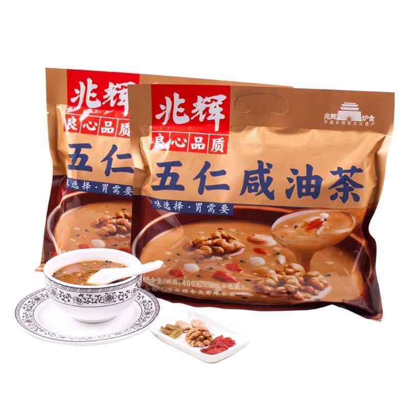 兆辉 五仁咸油茶 400g*2袋