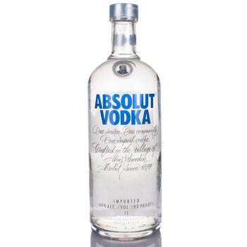 Absolut Vodka 绝对伏特加 洋酒 伏特加 1000ml