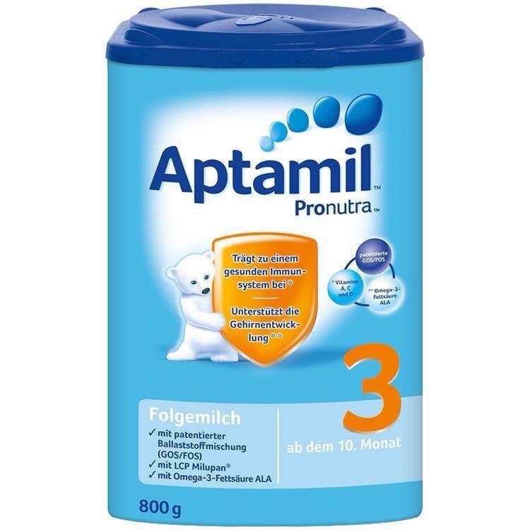 Aptamil 德国爱他美  婴幼儿奶粉 3段 10-12个月 800g