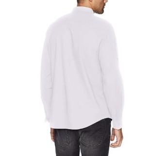 CALVIN KLEIN 卡尔文·克莱 40H6380 男士纯色衬衫